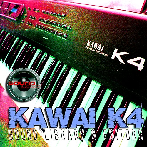 KAWAI K4/K4r - Large Original Factory & New Created Sound Library & Editors on CD or download by SoundLoad
