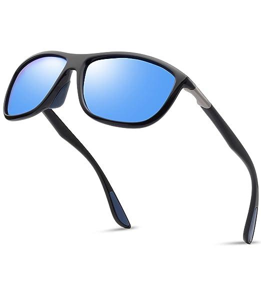 57441c4192641 Polarized TR90 Sports Sunglasses for Men - Kanastal Ultra Lightweight  Unbreakable Sun Glasses for Women KU1907