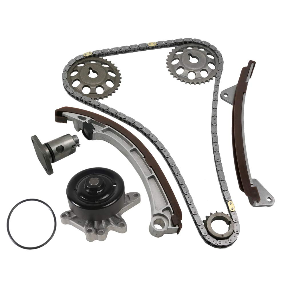 Chevrolet Prizm MOCA Timing Chain Kit Water Pump for 00-08 Toyota Corolla /& Matrix /& MR2 Spyder Pontiac Vibe 1.8L L4 DOHC