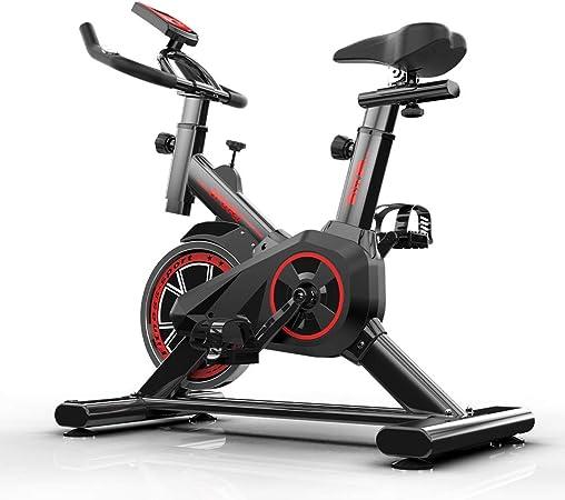 TXDWYF Bicicleta Estática, Fitness, Bicicleta Spinning Profesional Magnetica, Bicicleta Indoor de Rueda de Inercia de 6 kg, Manillar & Sillín Son Ajustables en Altura, Adultos Unisex: Amazon.es: Hogar
