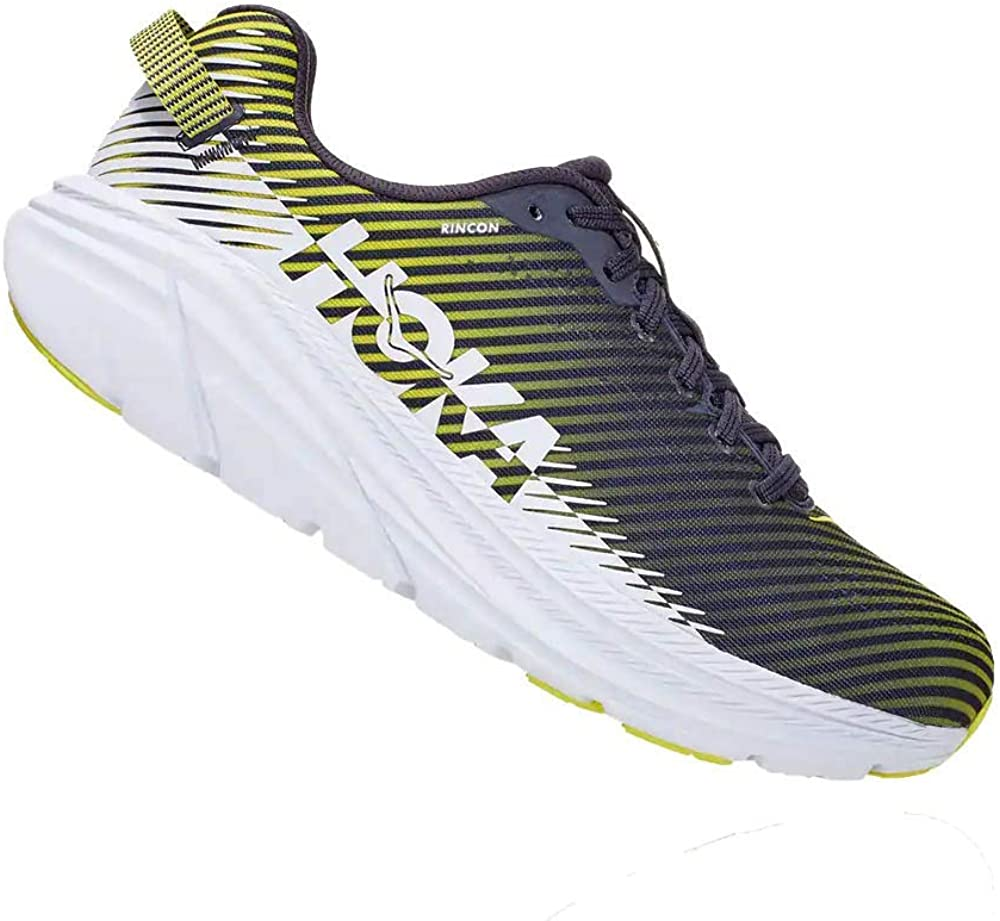 HOKA - Zapatillas de running para hombre Rincon 2 (color: Odyssey Grey/White) Size: 41 1/3 EU: Amazon.es: Zapatos y complementos