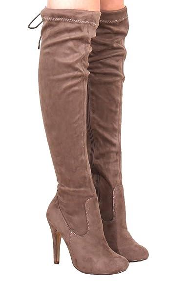 Catwalk Fashion, Damen Stiefel & Stiefeletten braun