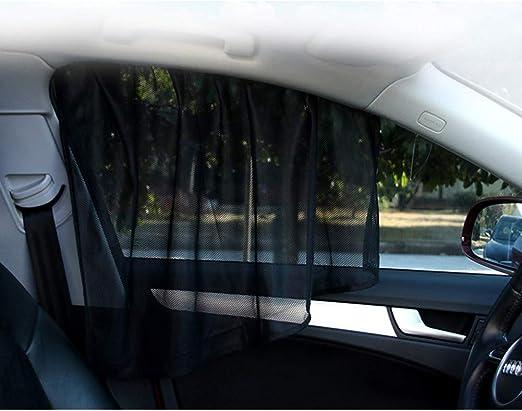 f/ür vorne und hinten silberfarben faltbar Queenaal Auto-Windschutzscheiben-Sonnenschutz 130 x 60 cm reflektierend