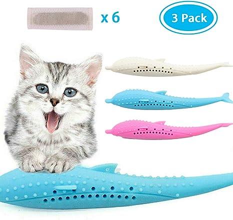 Amazon Com Eutreec Catnip Toys Interactive Cat Fish Shape