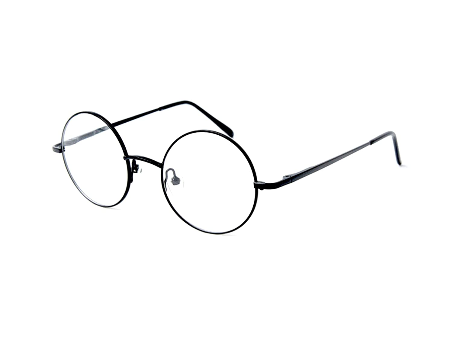 e0db6cfc0e87 Amazon.com  Big Mo s Toys Wizard Glasses - Round Wire Costume Glasses  Accessories for Dress Up - 1 Pair  Clothing