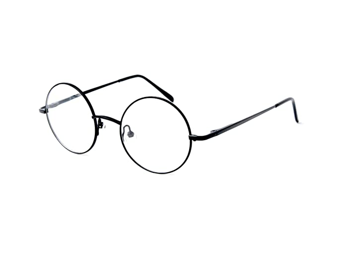 3d7482c4c75 Image Unavailable. Image not available for. Color  Big Mo s Toys Wizard  Glasses - Round Wire Costume ...