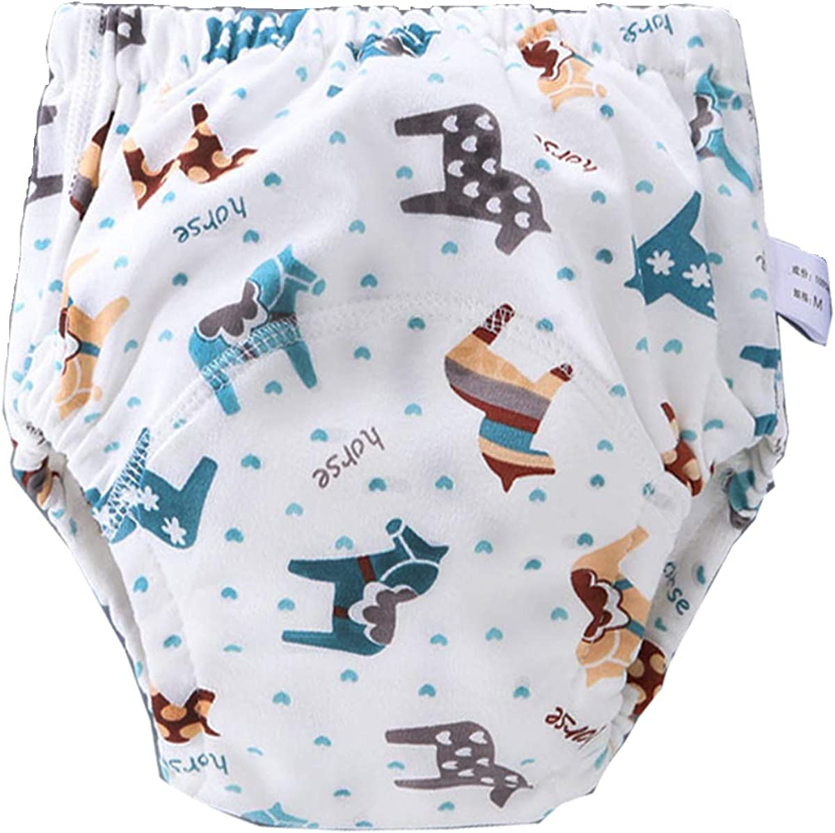 6 Pack Potty Training Pants for Boys Girls Learning Designs Training Underwear Pants 1T-5.5T