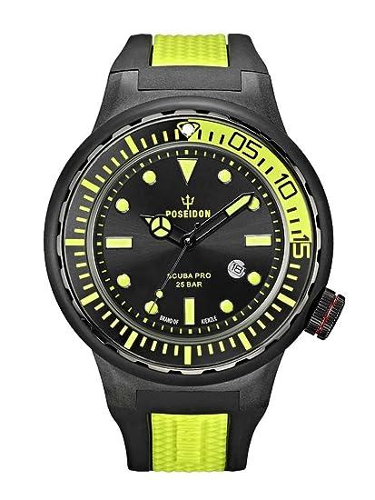 Kienzle POSEIDON XL SCUBA PRO K2081243023-00394 - Reloj analógico de cuarzo para hombre,