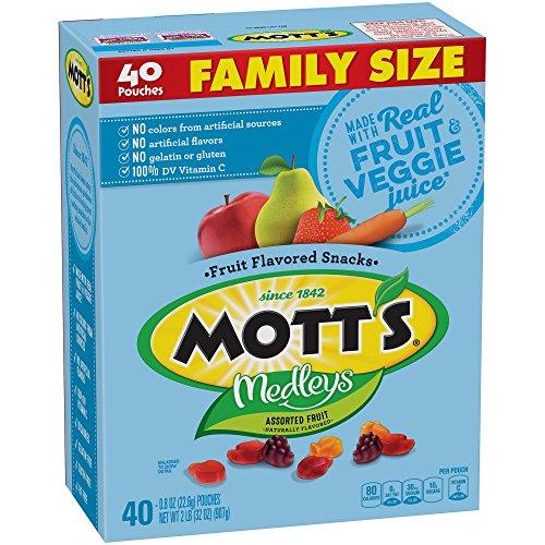 Mott's Medleys Fruit Flavored Snacks, Assorted Fruit, Value Pack