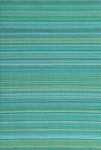 (Mad Mats® FM-MIX58-TR1 Outdoor/Indoor Plastic Mat Mix 5'X 8', Tropical)