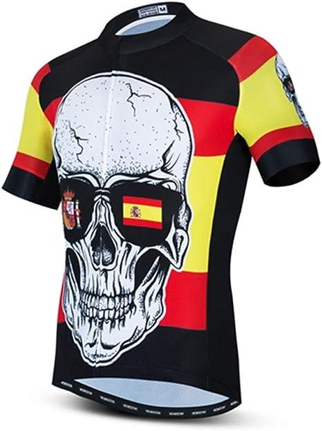 Camiseta Ciclismo De Hombre,Los Hombres Maillots De Manga Corta De ...