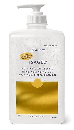 Amazon Com Isagel No Rinse Instant Hand Sanitizing Gel 21 Oz