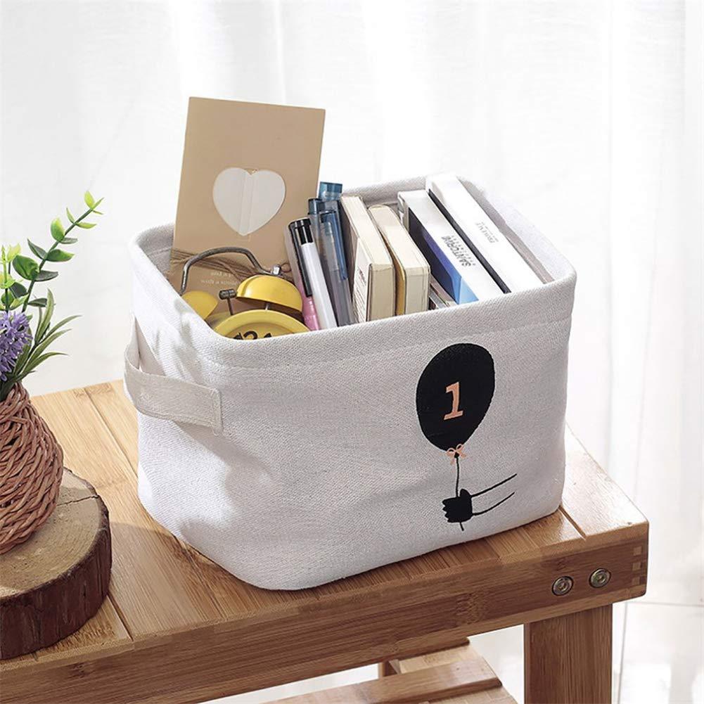 libros y otros accesorios ropa Ruikey Cesta Organizador para Juguetes de Ni/ños cesta de lavadero plegable Organizador para juguetes