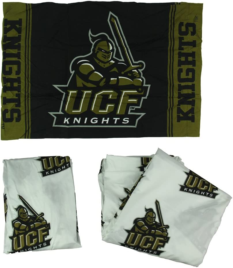 Northwest University of Central Florida Knights 3 Piece Twin Bed Sheet Set UCF
