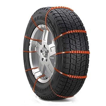 GSYDXL Cadena antirresbaladiza de la Cadena de la Rueda del neumático del automóvil Universal para Nieve Neumáticos de Estilo de automóvil para SUV Offroad ...