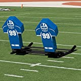Football Blocking Sled with Royal Cone Pads - Varsity M-Series - 2 Man
