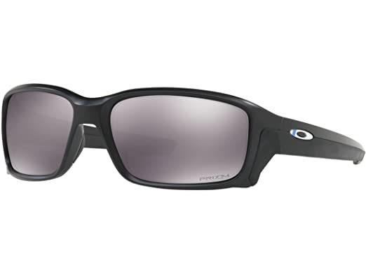 c9a6f09437d Amazon.com  Oakley Straightlink Frame  Blue Black Lens  Prizm Grey ...