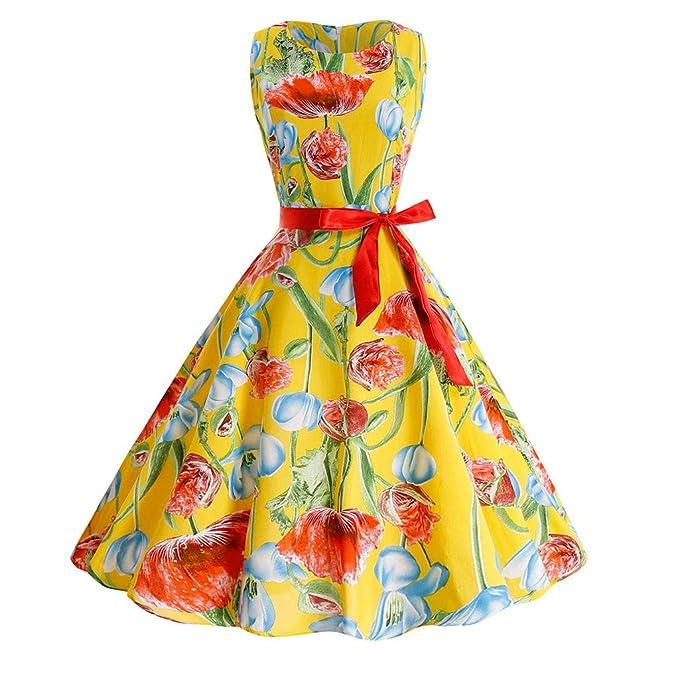 Amazon.com: Giulot - Vestido para mujer, estilo vintage de ...