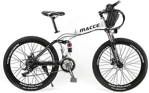 Bicicleta Electrica MontañA,BateríA De Litio De 36v / 10ah, Marco ...