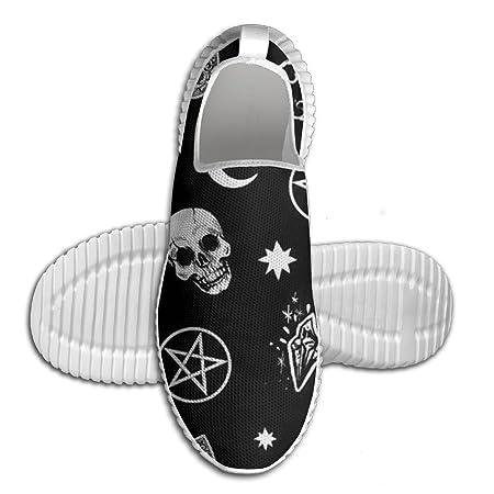 Zapatillas de correr para hombre, ligeras, para Halloween, sin ...