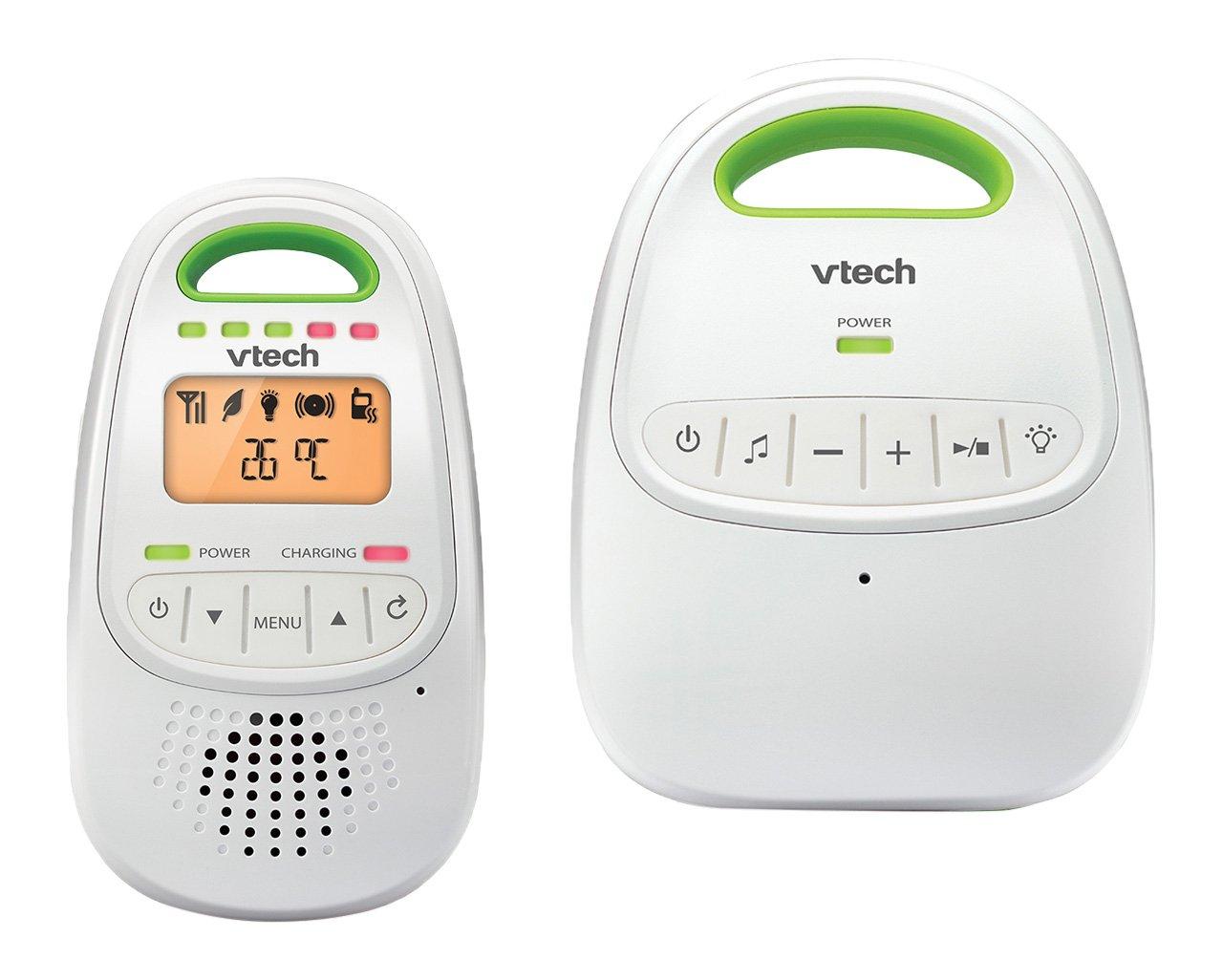 Vtech Baby 80–026100–Babyphone BM 2000, blanc