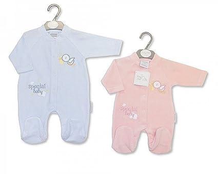 Del bebé prematuro de ropa en el lado Pelele para bebé de piel sintética con patrón