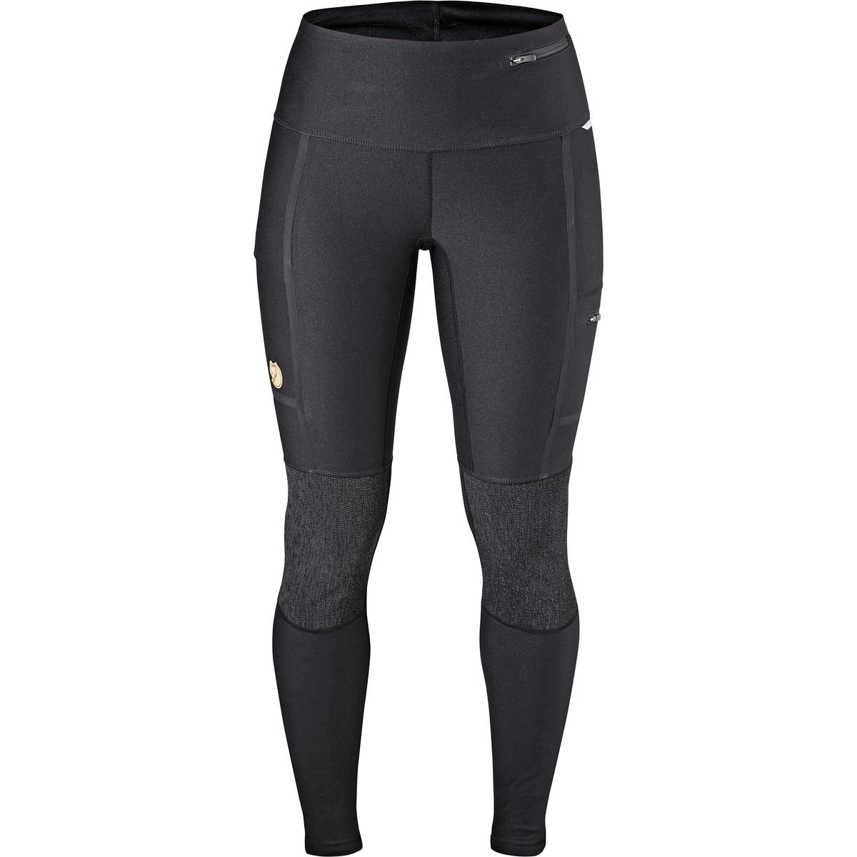 Fjallraven Women's Abisko Trekking Tights, Black, M