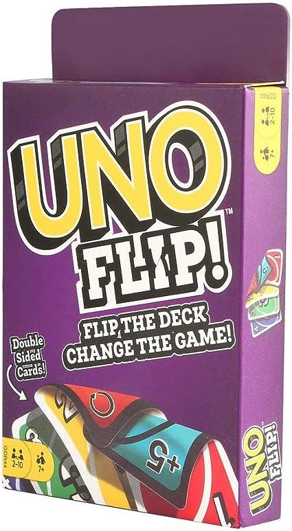 Amazin Cards Game Thought Provoking Conversation Uno Flip For Friends For Great Relationships, juego de cartas de conversación divertido: Amazon.es: Hogar
