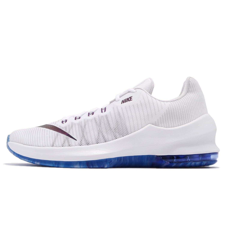 (ナイキ) エア マックス インフリエイト II プレミアム 2 メンズ バスケットボール シューズ Nike Air Max Infuriate II PRM AJ1933-140 [並行輸入品] B07C2MMRHP 28.5 cm WHITE/VAST GREY-NIGHT PURPLE