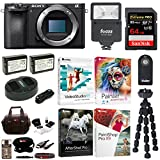 Cheap Sony a6500 Mirrorless Camera with Corel Software Suite and 64GB Accessory Bundle
