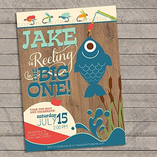 fish birthday invitations - 6