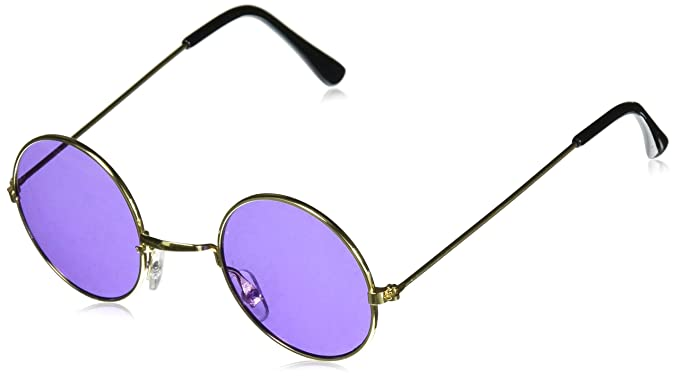 fb1304f019fd Amazon.com: Rhode Island Novelty John Lennon Colored Sunglasses ...
