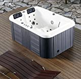 2 Person Hydrotherapy Bathtub Hot Tub Bath Tub SPA - 085B (Hard Top Cover)