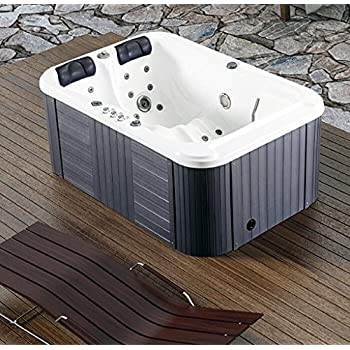 SDI Hot Tubs 2 Person Hydrotherapy Bathtub Hot Tub Bath Tub SPA   085B  (Hard Top Cover)
