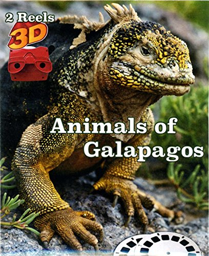 Animals of Galapagos - Classic ViewMaster - 2 Reel Set - NEW by 3Dstereo ViewMaster (Image #1)