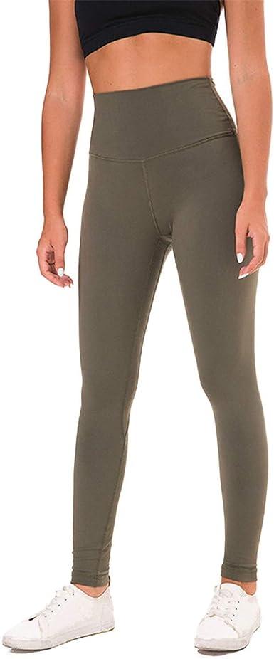 Amazon.com: Sunny-Aha Women Yoga Leggings Squat Proof with ...