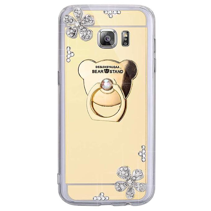 Amazon.com: ISAKEN - Carcasa de TPU para Samsung Galaxy S6 ...