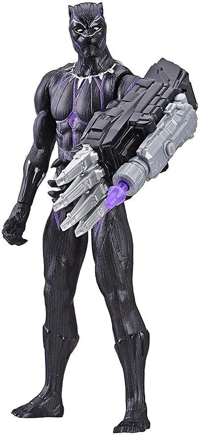 Amazon.com: Avengers Marvel Endgame Titan Hero Power FX Black Panther: Toys & Games