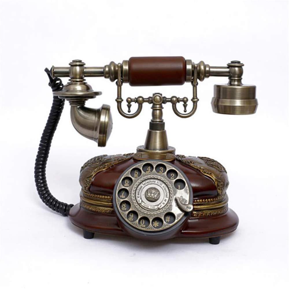 BHXUD Teléfono Vintage,Teléfono Fijo Retro,Retro Vintage ...
