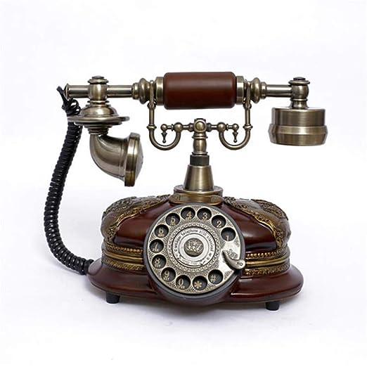 BHXUD Teléfono Vintage,Teléfono Fijo Retro,Retro Vintage Vintage ...