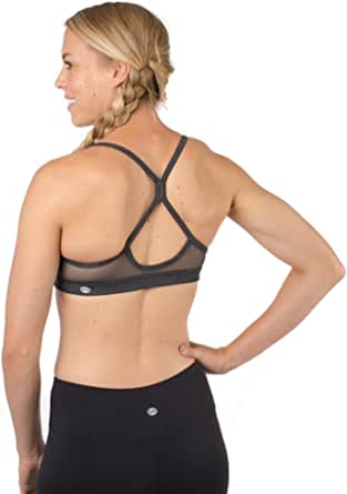 Lykoxa Sports Bras for Women,Padded Bras for Yoga Activewear with Removable Cups