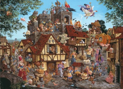 Rhymes and Reasons a 1500-Piece Jigsaw Puzzle by Sunsout Inc.