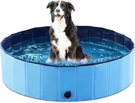 AIdog Piscina Plegable para Mascotas para Perros Piscina Plegable ...