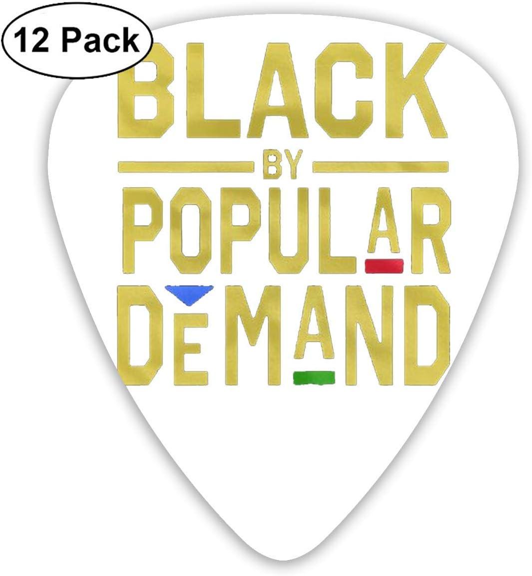 12 Pack Guitar Picks Black Popular.png Think, Medium and Heavy ...
