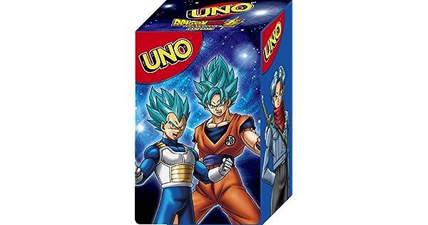 Uno Dragon Ball Super Caja Oficial Para Guardar Las Tarjetas ...
