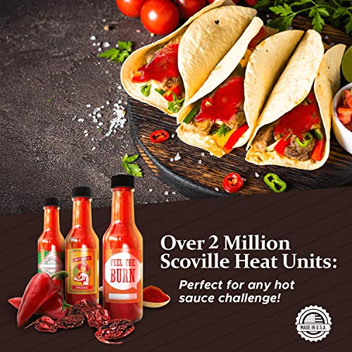 Hot Sauce Kit (Makes 7 Lip Smacking Gourmet Bottles) Featuring Heirloom Peppers From 5th Generation Farmers, A Full Set…