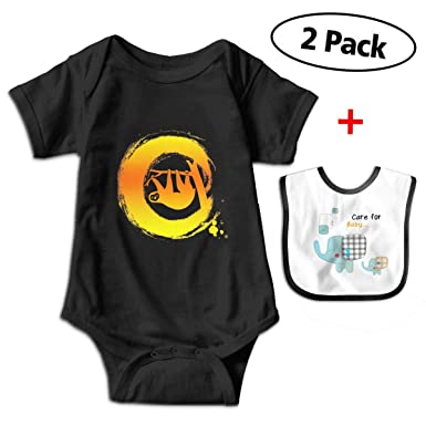 bdbf5b10a Amazon.com  Leopoldson Golden Sloth Lazy Baby Bodysuits Short Sleeve ...