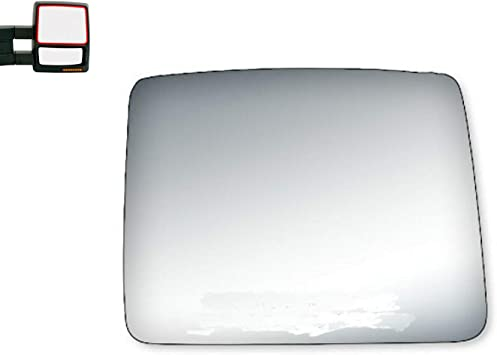 NEW Mirror Glass 04-11 FORD F150 PICKUP Driver Left Side MANUAL LH