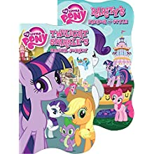 "Bendon 9739 My Little Pony Shaped Board Book, 5"" x 8.5"", Assorted Covers"
