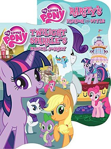 Bendon 9739 My Little Pony Shaped Board Book, 5